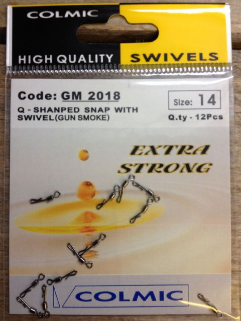 Colmic Snap Swivels